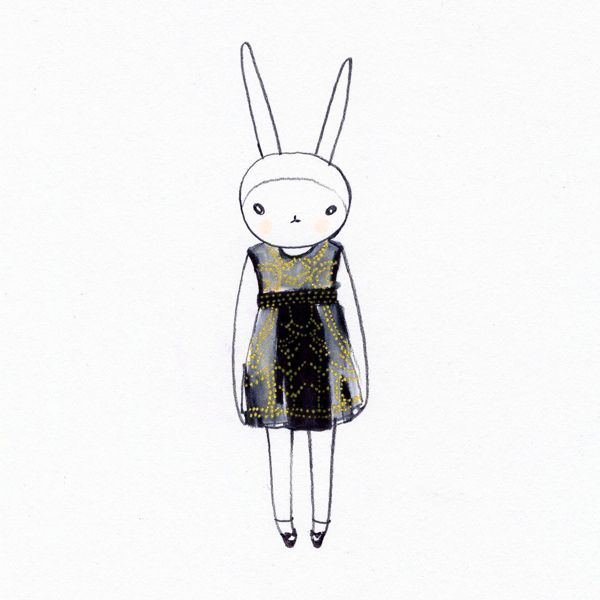 Fifi Lapin Lfw Love List Fifi Lapin Bunny Fashion Love List
