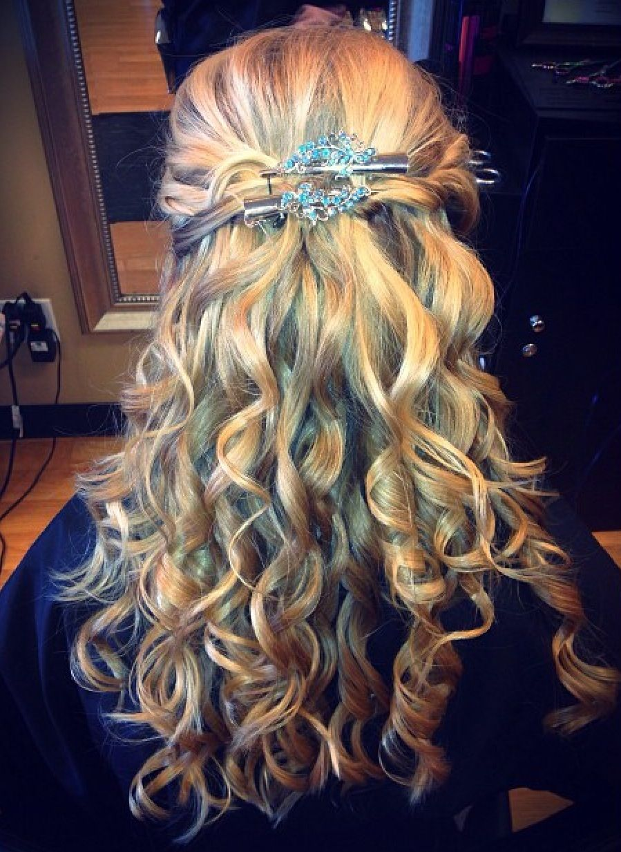 Hairstyle for homecoming or prom everything hair pinterest