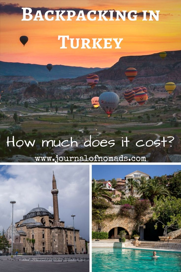 Backpacking in Turkey on a budget How much does it cost