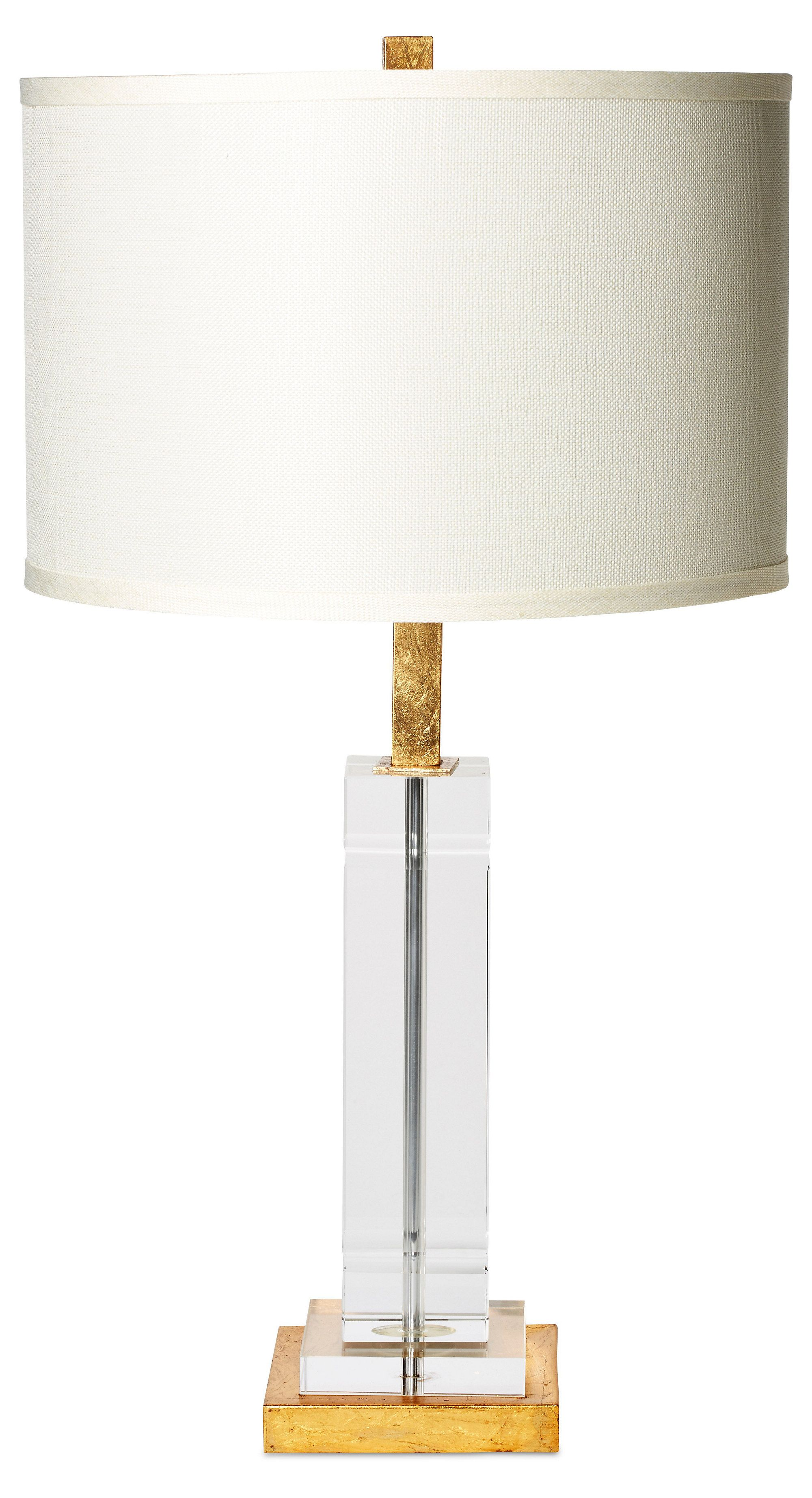 Avery Table Lamp, Crystal | One Kings
