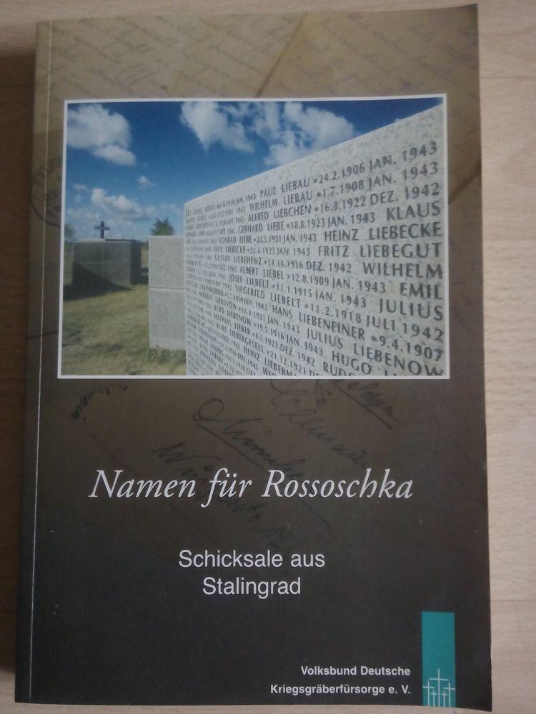Namen für Rossoschka und Unter den Sternen!Tachenbücher!NEU!