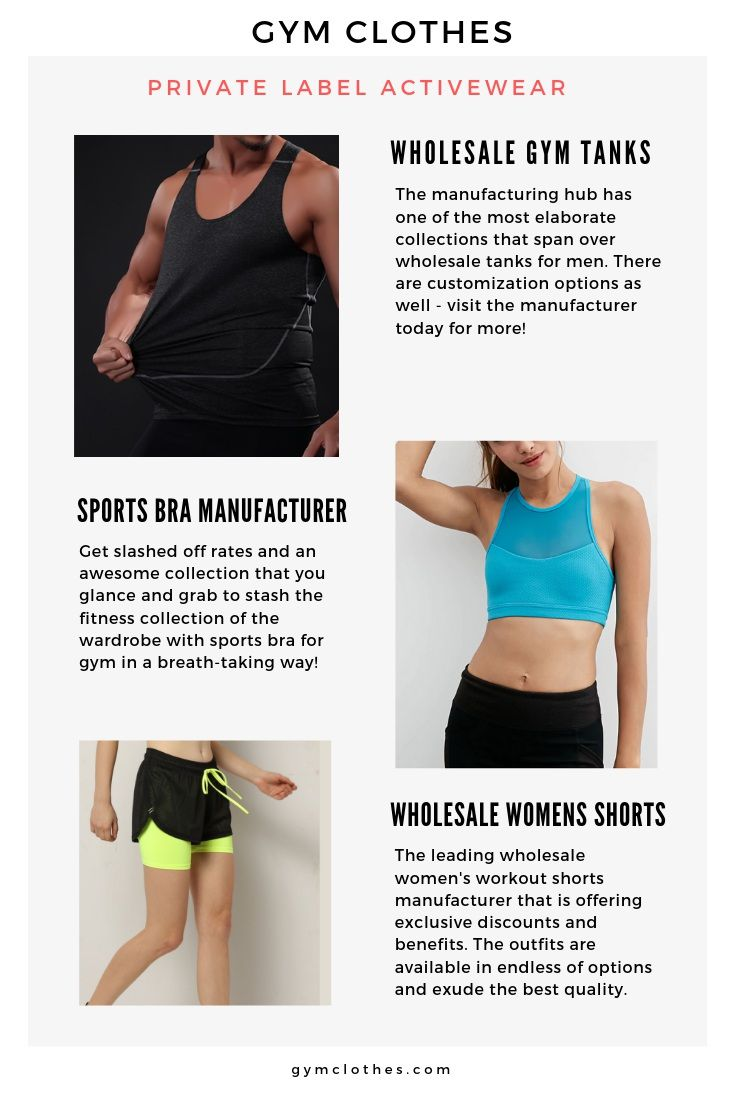 custom fitness apparel wholesale private label athletic apparel manufacturers