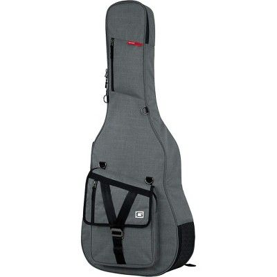 Gator Transit Series Acoustic Guitar Gig Bag Gray Acoustic Guitar Acoustic Guitar