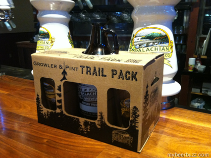Appalachian Brewing Launches Growler & Pint Gift Packs