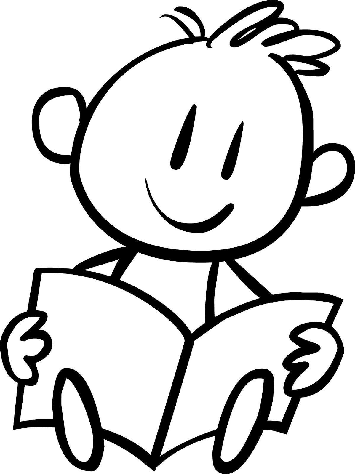 Free coloring pages for reading - Reading Baby Einstein Coloring Pages For Kids Free Printable