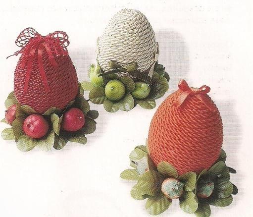 Risultati immagini per patchwork uova di pasqua - Idee per decorare uova di pasqua ...