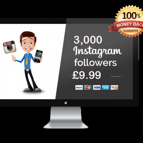 3000 Instagram Followers Get instagram followers, Real