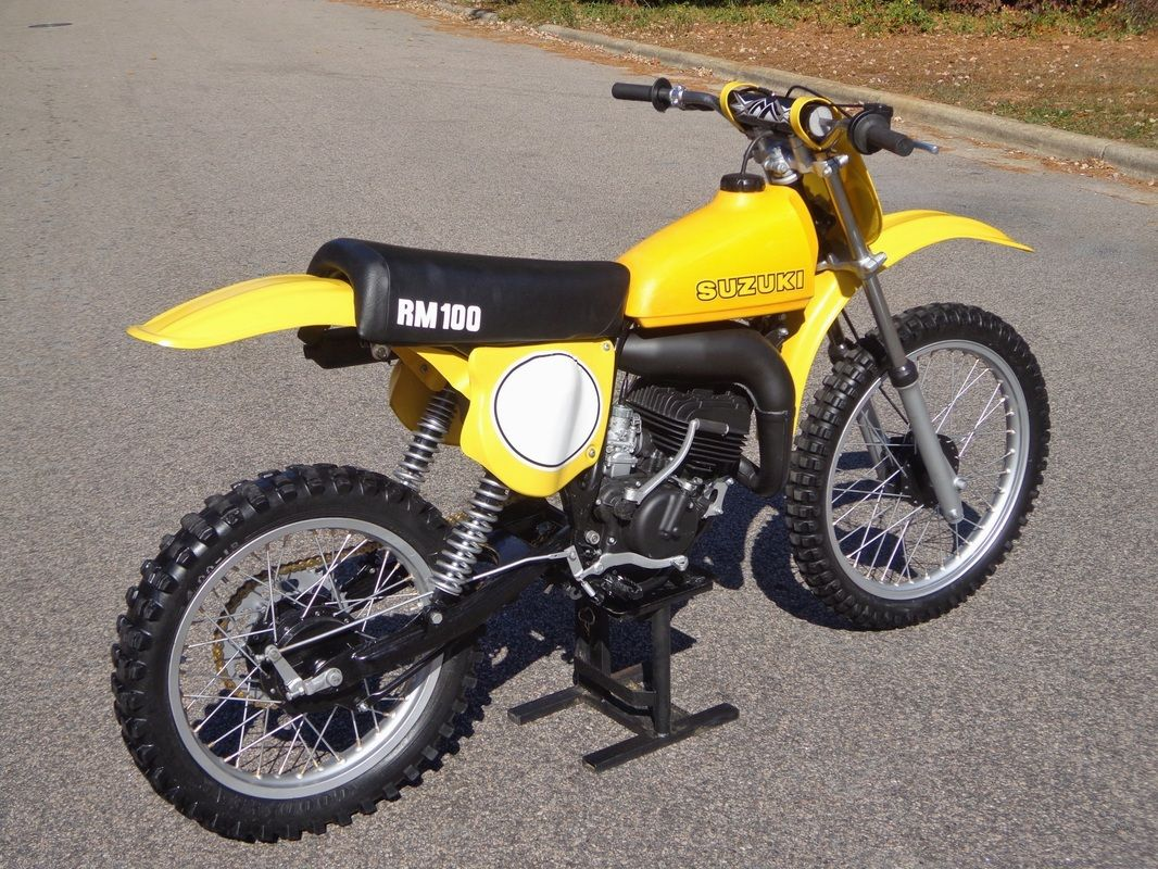 1978 suzuki rm100 vintage motocross bikes suzuki dirt bikes suzuki motorcycle motocross bikes. Black Bedroom Furniture Sets. Home Design Ideas