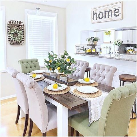 rustichomemomma summertime dining table goals that s what we rh pinterest com