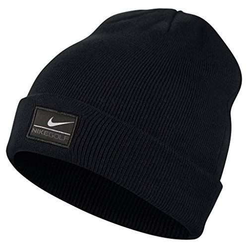 f2968b15756 Nike Golf 2014 Mens Cuff Knit Golf Beanie Hat - Black Nike http