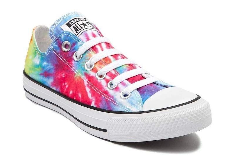 Converse Mens Chuck Taylor All Star Tie Dye Low Top Sneaker