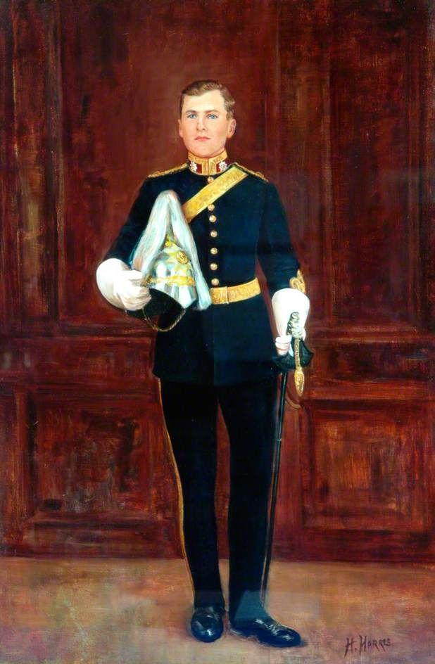 Major Michael Bell (1915 u20131944), Royal Dragoon Guards Retratos de militares Pinterest