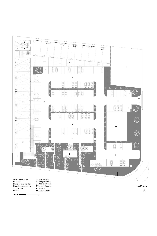 Gallery Of Terranorte Plaza Boyance Arquitectura Edificacion 22 Ground Floor Floor Plans Ground Floor Plan
