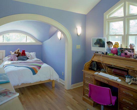 Attic Loft Design Ideas Pictures Remodel And Decor Attic Conversion Bedroom Alcove Bed Bed Nook