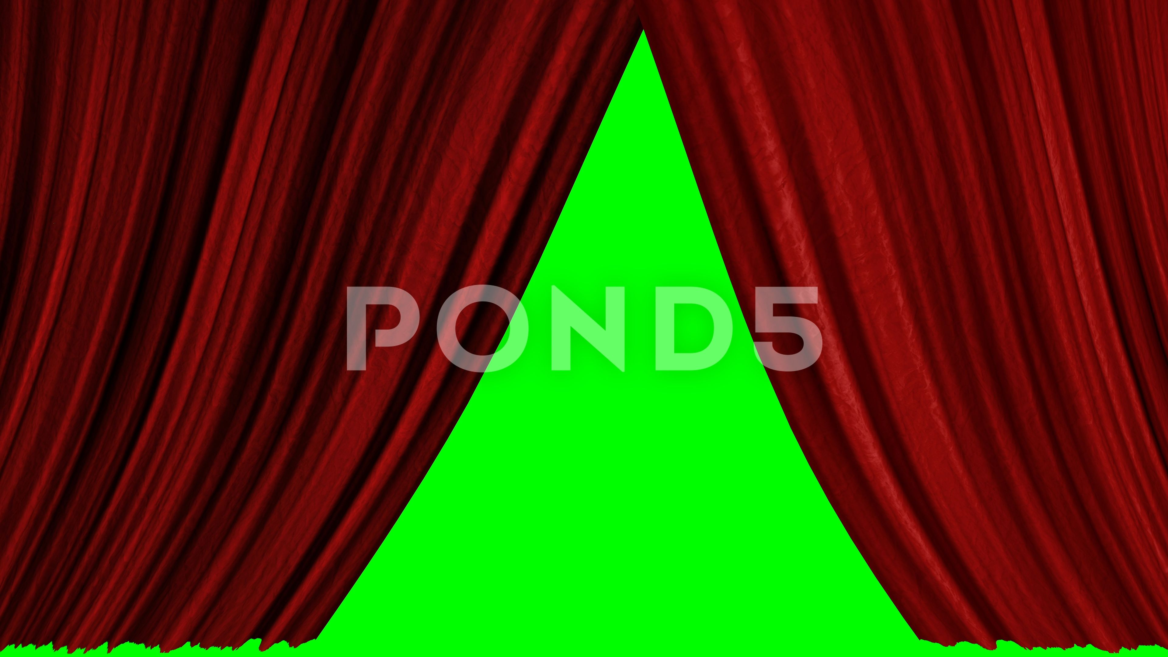 Five Options For Opening Texture Curtains With A Green Screen