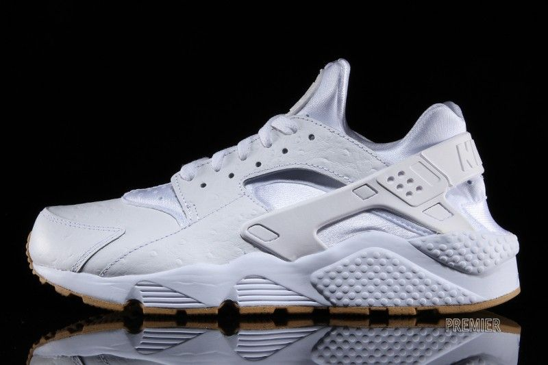 save off 4028c b1045 nike air huarache gum sole   Nike s  White Ostrich  Huaraches Finally  Released