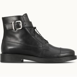 Tod's - Ankle Boots aus Leder, Schwarz, 40.5 - Shoes Tod's