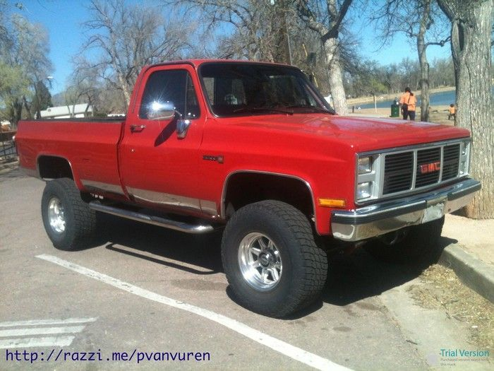 1980 S Gmc 4x4 Pickup Truck Lifted And Ready To Play Offroad