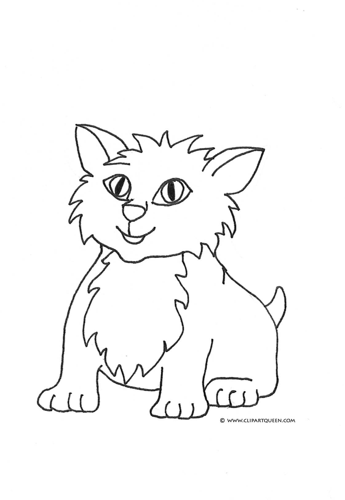 cat color pages printable | cat-coloring-pages-small-cute-cat-2.jpg ...