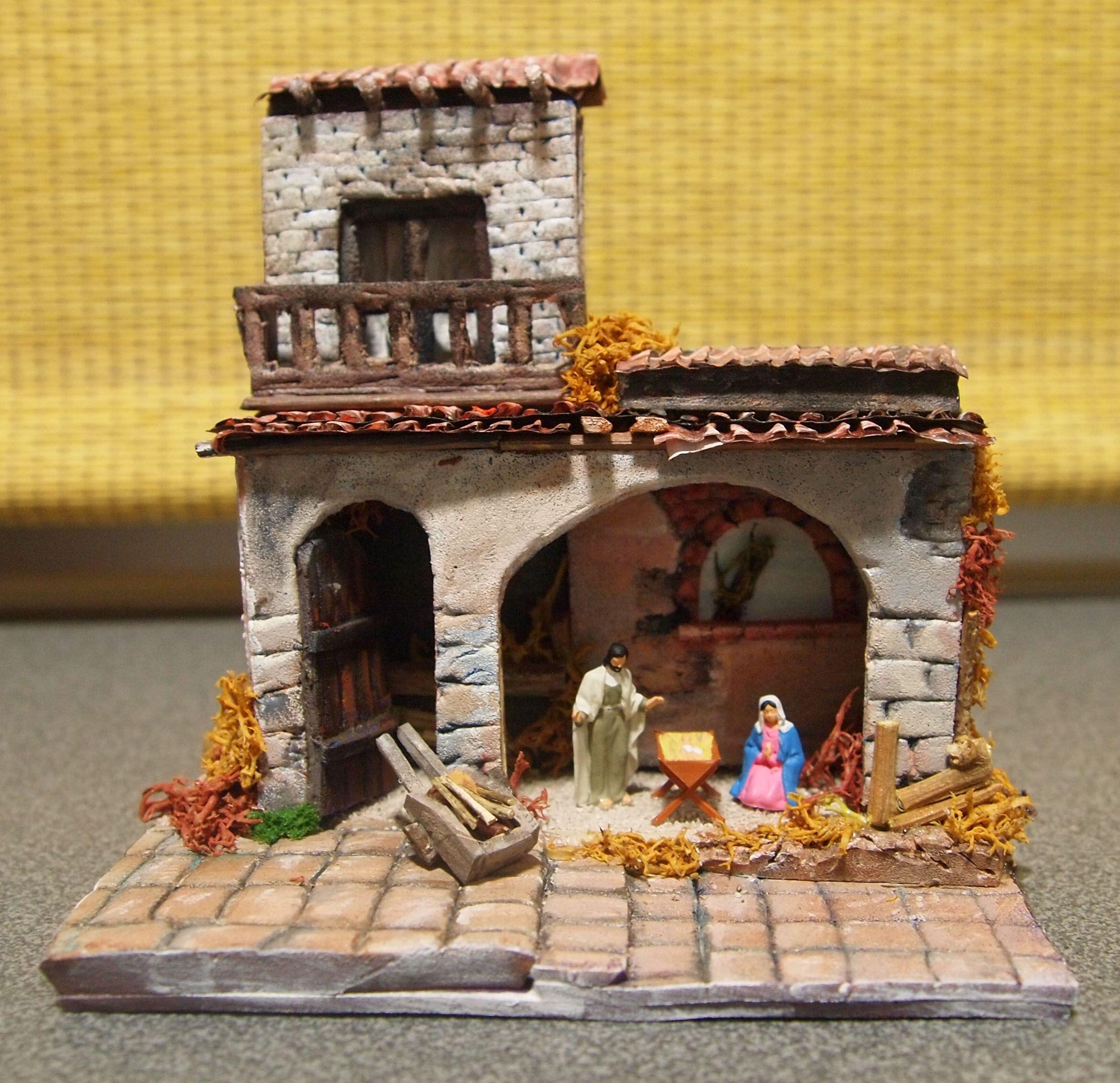 Portal Belen En Foam Y Acrilicos Belenes Imagenes De Pesebres Belenes De Navidad