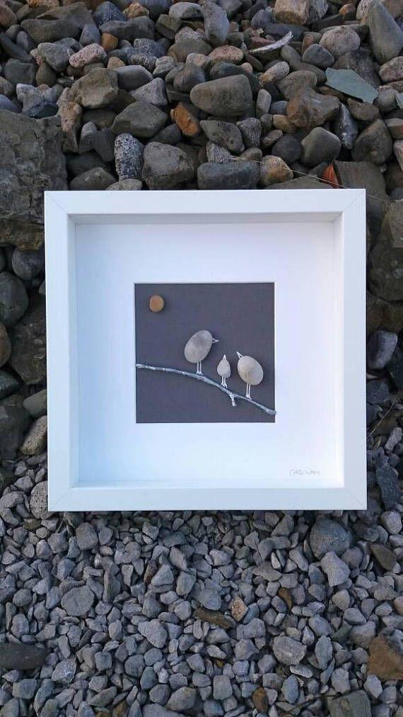 Irish pebble art, \