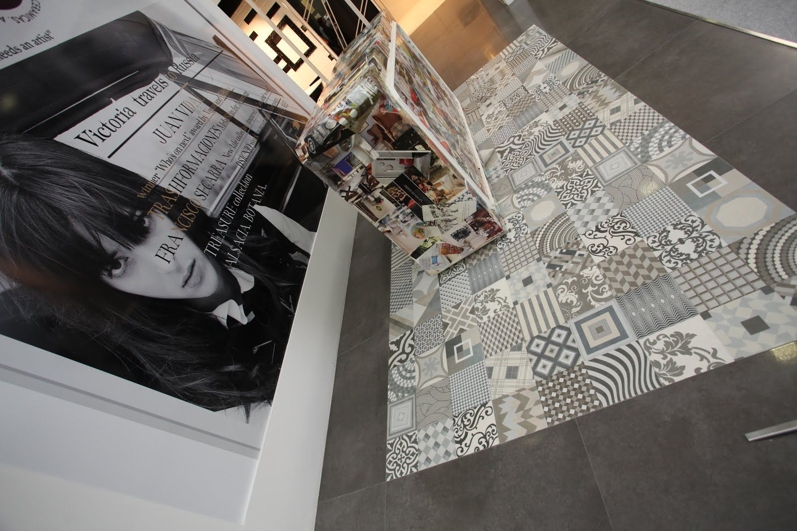 Patterned Feature Wall And Floor Tiles Sydney Cool Home Stuff Pinterest Showroom