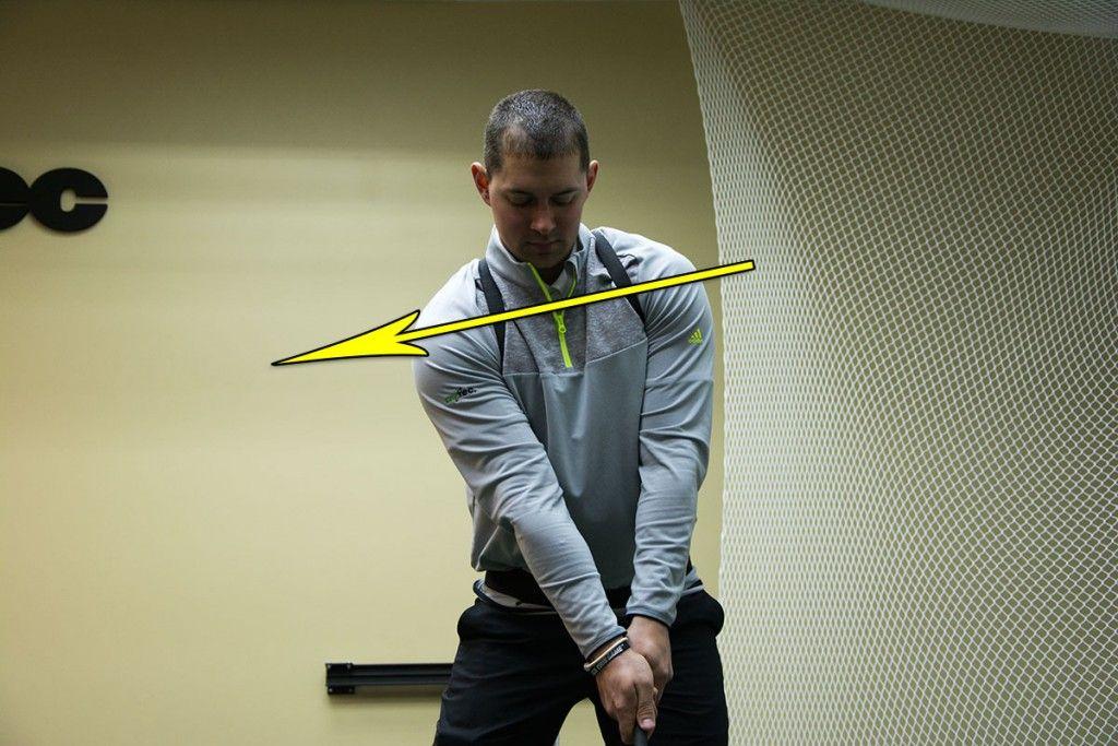 Proper Address Position for improved ball striking Golf