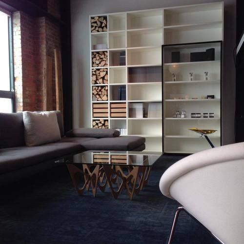 ModMobili Showroom: Living room vignette (Lower level ...