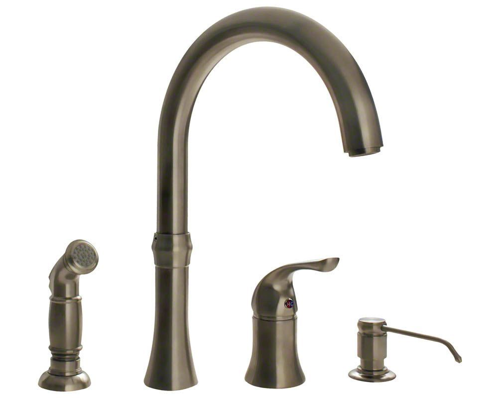 106 brushed nickel kitchen faucets rta cabinet store rh pinterest com