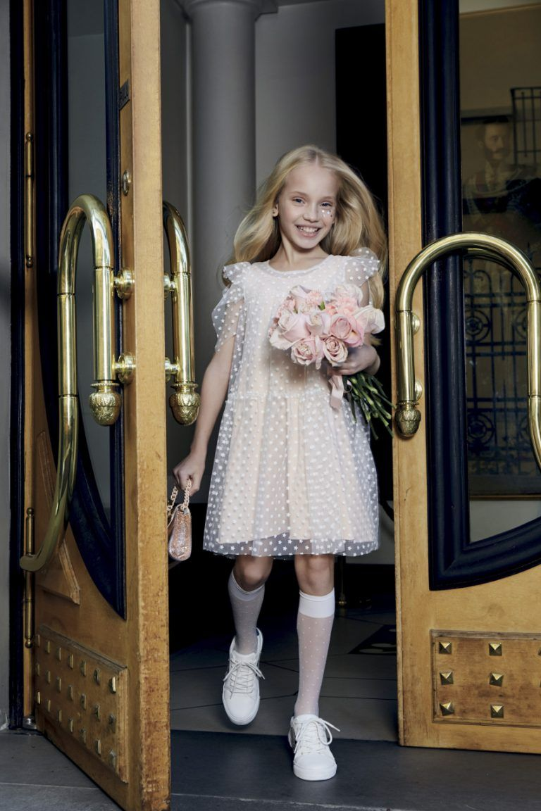 fa927c175 Occasion dresses Aletta Couture spring summer 2019 - Fannice Kids Fashion