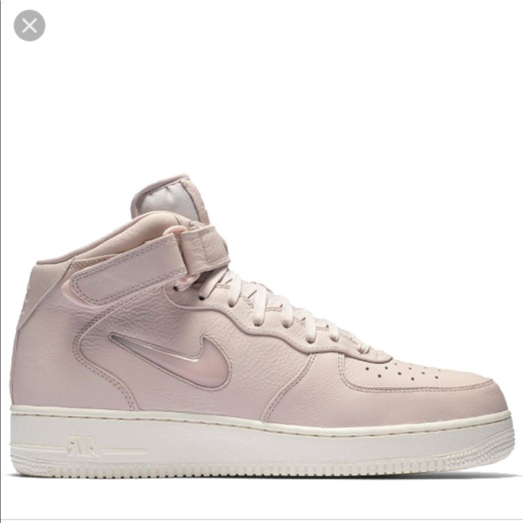 Nike Shoes | Nike Air Forces 1 Mid Premium Jewel Silt Red