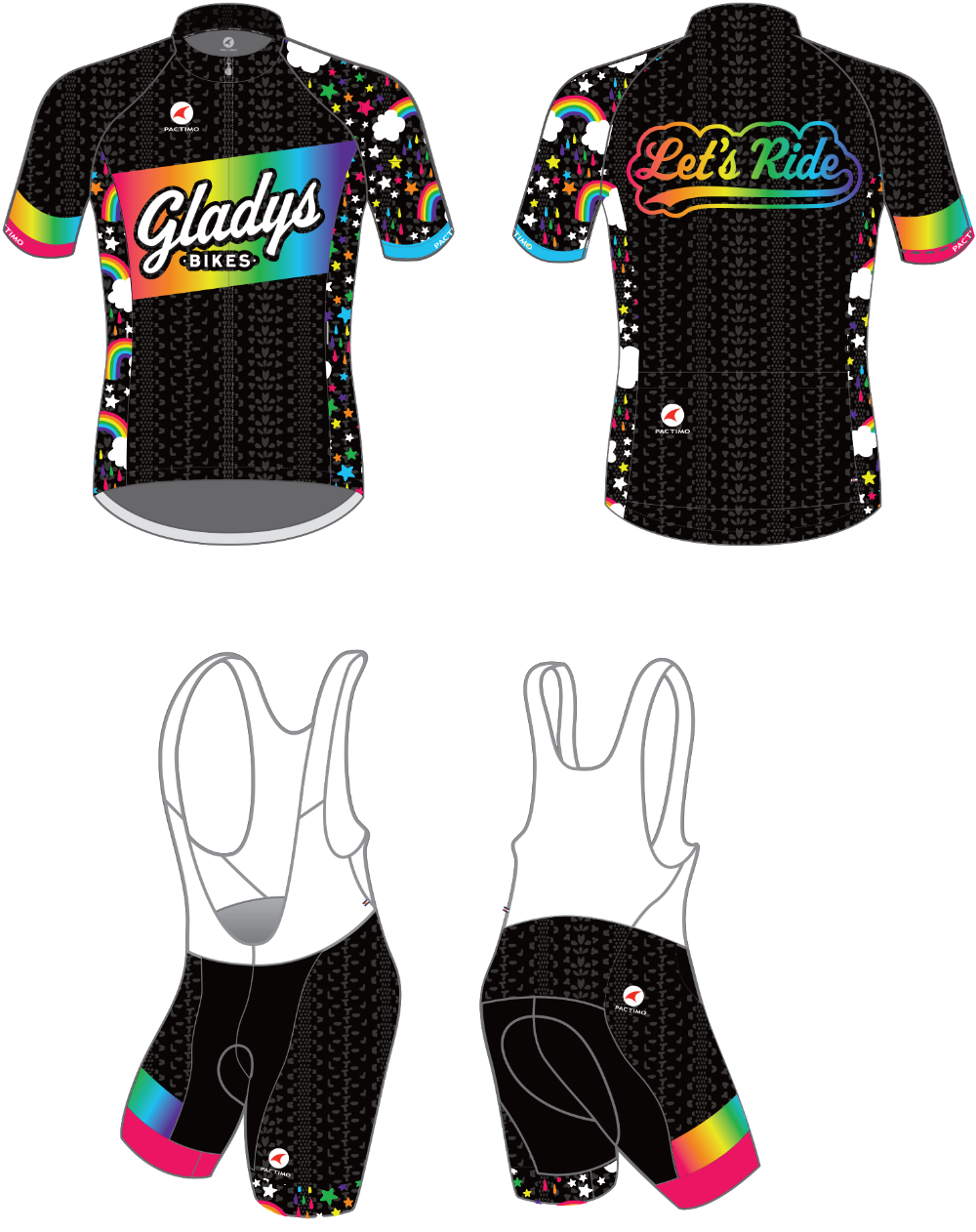 Mary Lytle Jersey Design Gladys Bikes 2019 Cycling Kit