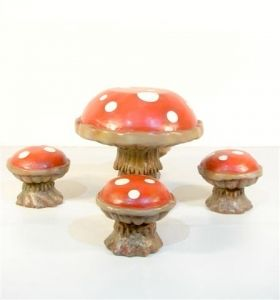 Toadstool Tea Party Tableset