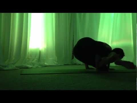 crazy yoga arm balance transitions with julie keel shown