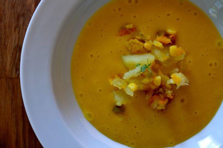 Lahodná mrkvová polievka