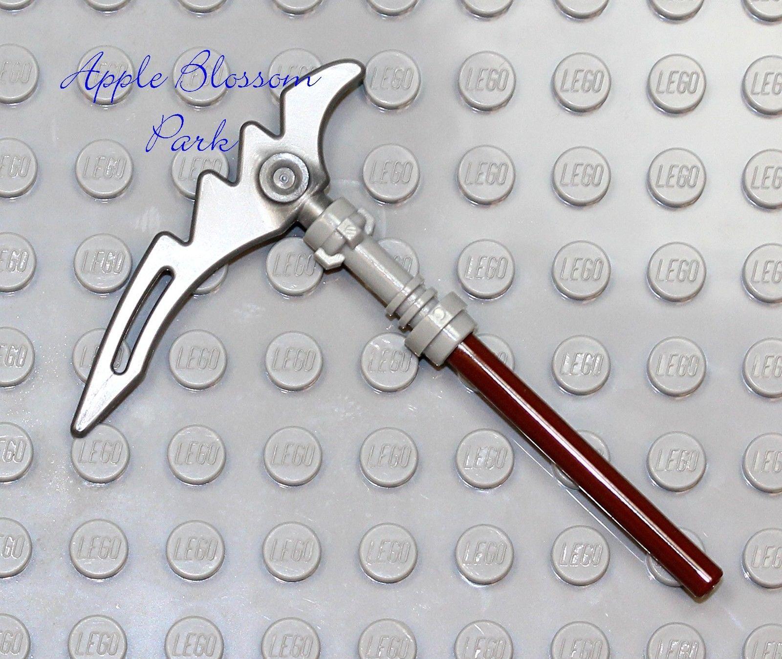 Castle Skeleton Gray Tool Weapon NEW Lego Ninjago Ninja Minifig SCYTHE BLADE