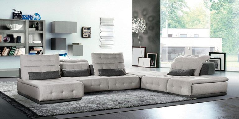 Light Gray Sectional Sofa Modern Design 2019 2020 Fabric Sectional Sofas Grey Sectional Sofa Grey Sectional Sofa Modern