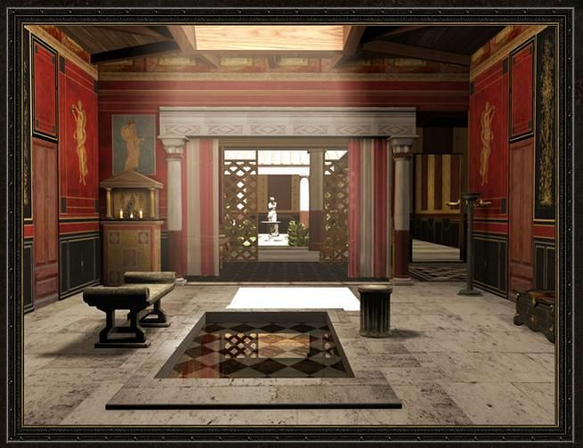 008 Digital reconstruction of a Roman Domus´s Atrium
