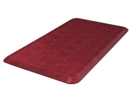 Newlife By Gelpro Designer Comfort Mat 20 By 32 Inch Pebble Pomegranate Read More At The Image Link Comfort Mats Kitchen Mats Floor Foam Mat Flooring