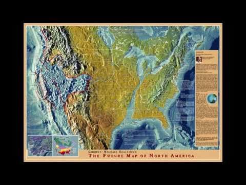 New World Land Maps After A Global Pole Shift Opinions And - Pole shift future us map