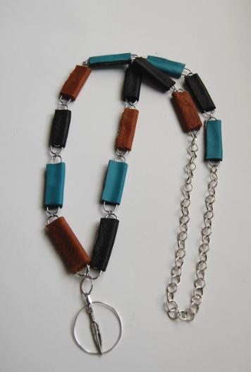 paper-clip necklace