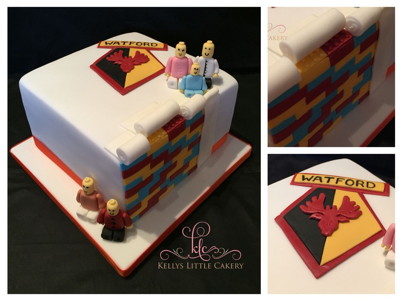 A combination of LEGO and Watford birthday cake! 😂
