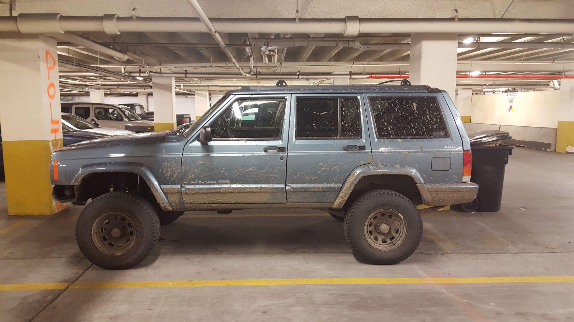 "5.5"" front, 5"" rear & 30x9.50R15 - XJ Lift/Tire Setup thread - Page 48 - Jeep Cherokee Forum"