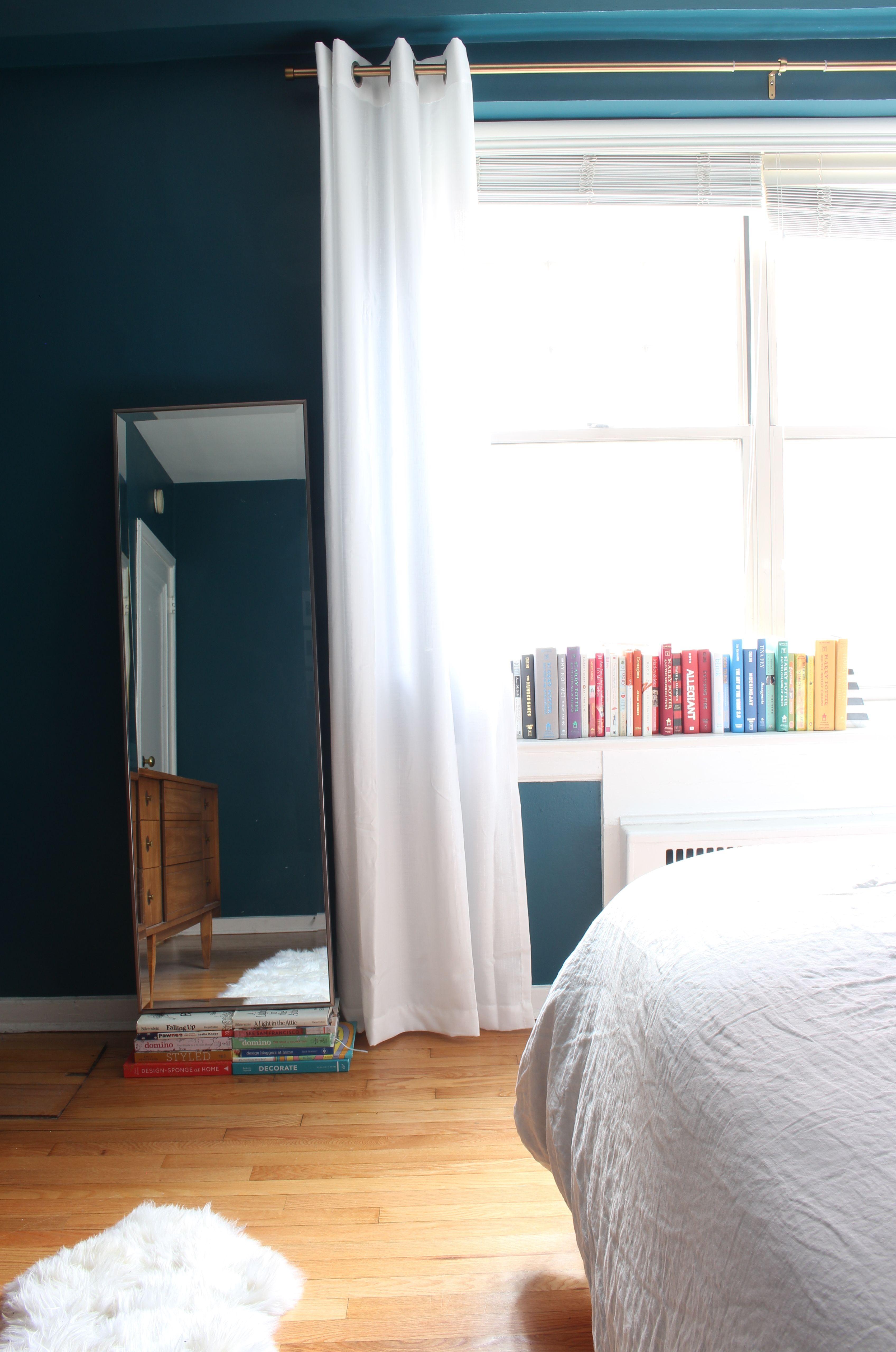 Mid Century Moody Bedroom Mid Century Modern Style Bedroom With Dark Teal