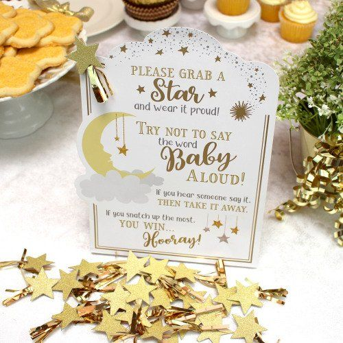 Twinkle Twinkle Little Star Baby Shower Game Set