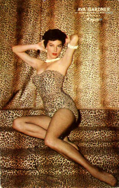 Co-starring with Clark Gable in MGM's Mogambo #classicactresses