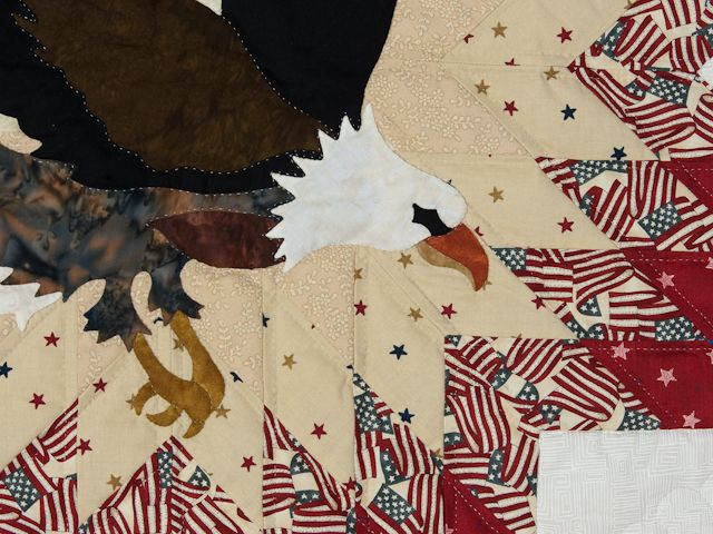 American Eagle & Lone Star Quilt -- gorgeous made with care Amish ... : quilts usa - Adamdwight.com