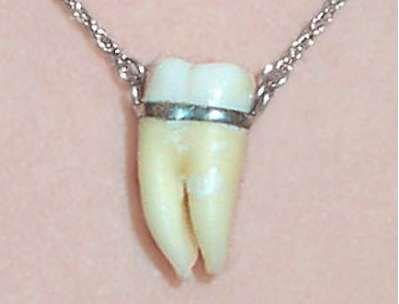Toothy Pendants Joyería Muelas Del Juicio Collares Y Joyas