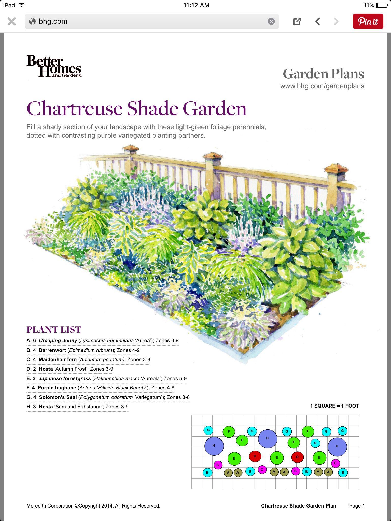 Bhg Free Landscaping Design Flower Garden Plans Garden Planning