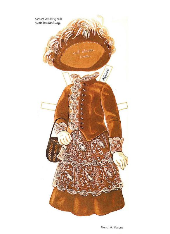 The Albert Marque Paper Dolls (circa 1914) by Peck Aubry - Nena bonecas de papel - Álbumes web de Picasa